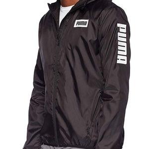 Puma Men's Rebel windbreaker jacket.